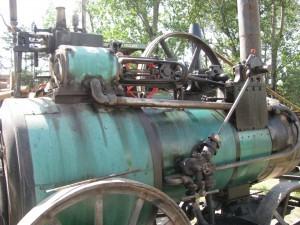 revolución industrial máquina a vapor