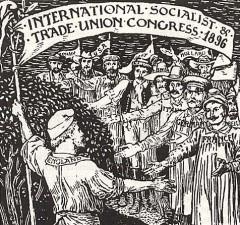 revolución industrial segunda internacional socialista