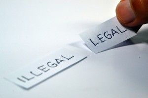 derecho legal ilegal