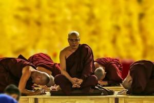 respeto monje budista