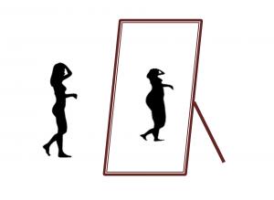 anorexia distorsión del esquema corporal