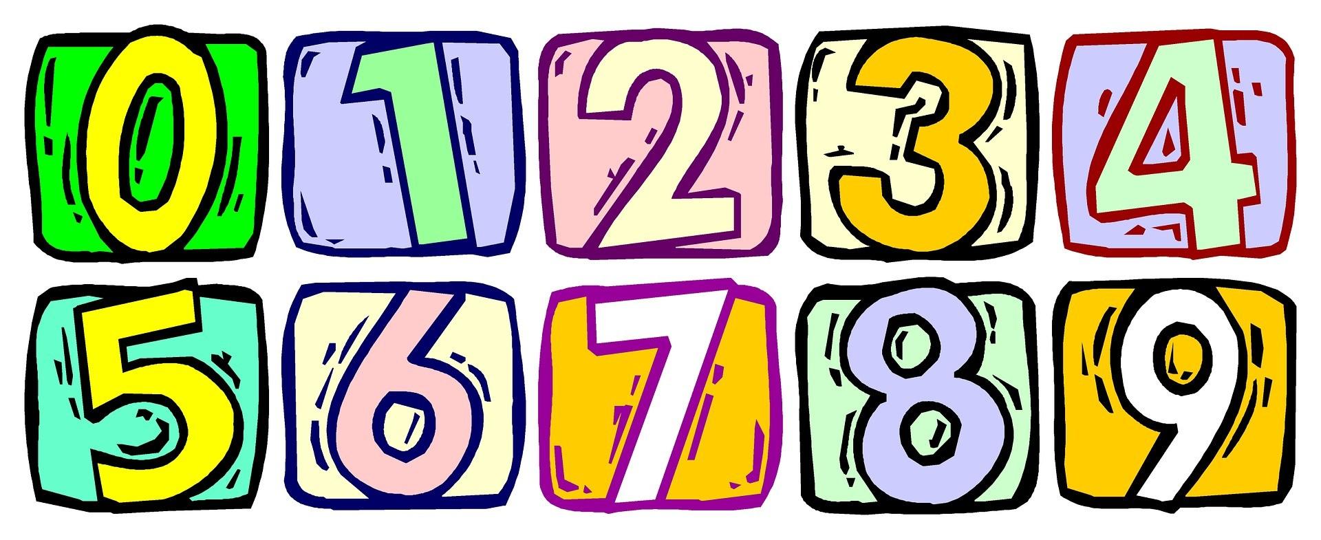 Qué es números naturales? Definición, concepto y significado.