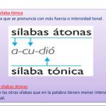 ¿Qué es átono?