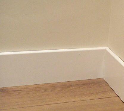 Qu es rodapi definici n concepto y significado - Zocalo de madera blanco ...