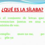 ¿Qué es silábico?