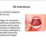 ¿Qué es sublingual?