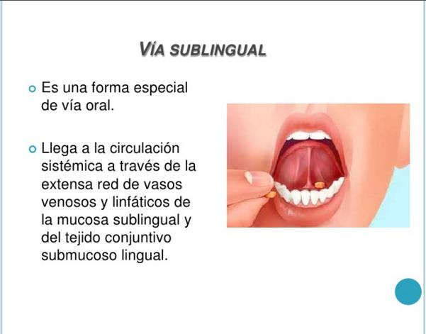 Qué es sublingual? Definición, concepto y significado
