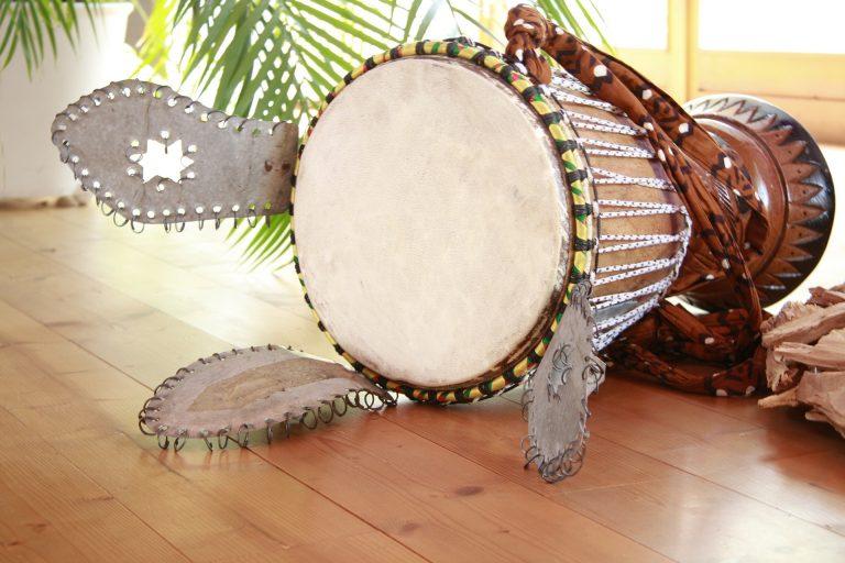parche de tambor