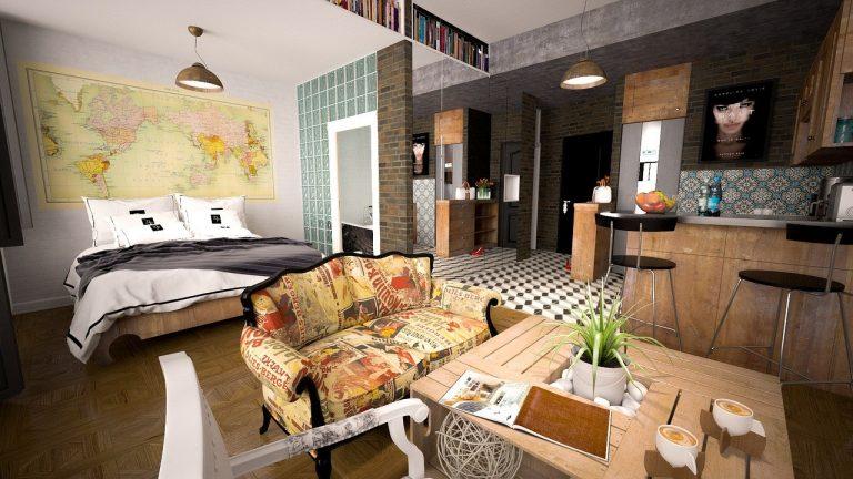 Qu es piso monoambiente definici n concepto y significado for Decoracion minimalista definicion