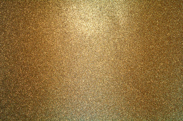 lámina de oro