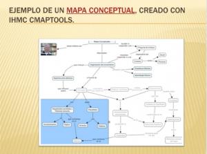 mapa conceptual en computadora