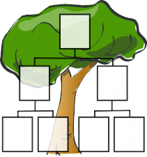 árbol genealógico esquema